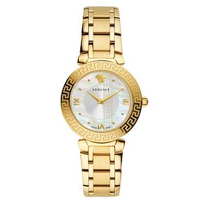Versace Daphnis Ladies' Yellow Gold Tone Bracelet Watch - Product number 4705033