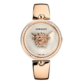 Versace Palazzo Empire Ladies' Rose Gold Tone Strap Watch - Product number 4705432