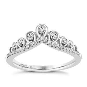 Emmy London Platinum 1/5 Carat Diamond Ring - Product number 4713478
