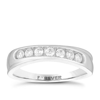 Palladium 0.28 Carat Forever Diamond Ring - Product number 4726553