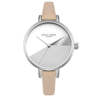 Daisy Dixon Ladies' Cream Leather Strap Watch - Product number 4728203