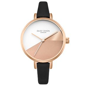 Daisy Dixon Ladies' Grey Leather Strap Watch - Product number 4728211