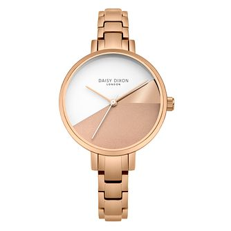 Daisy Dixon Ava Ladies' Rose Gold Bracelet Watch - Product number 4728238