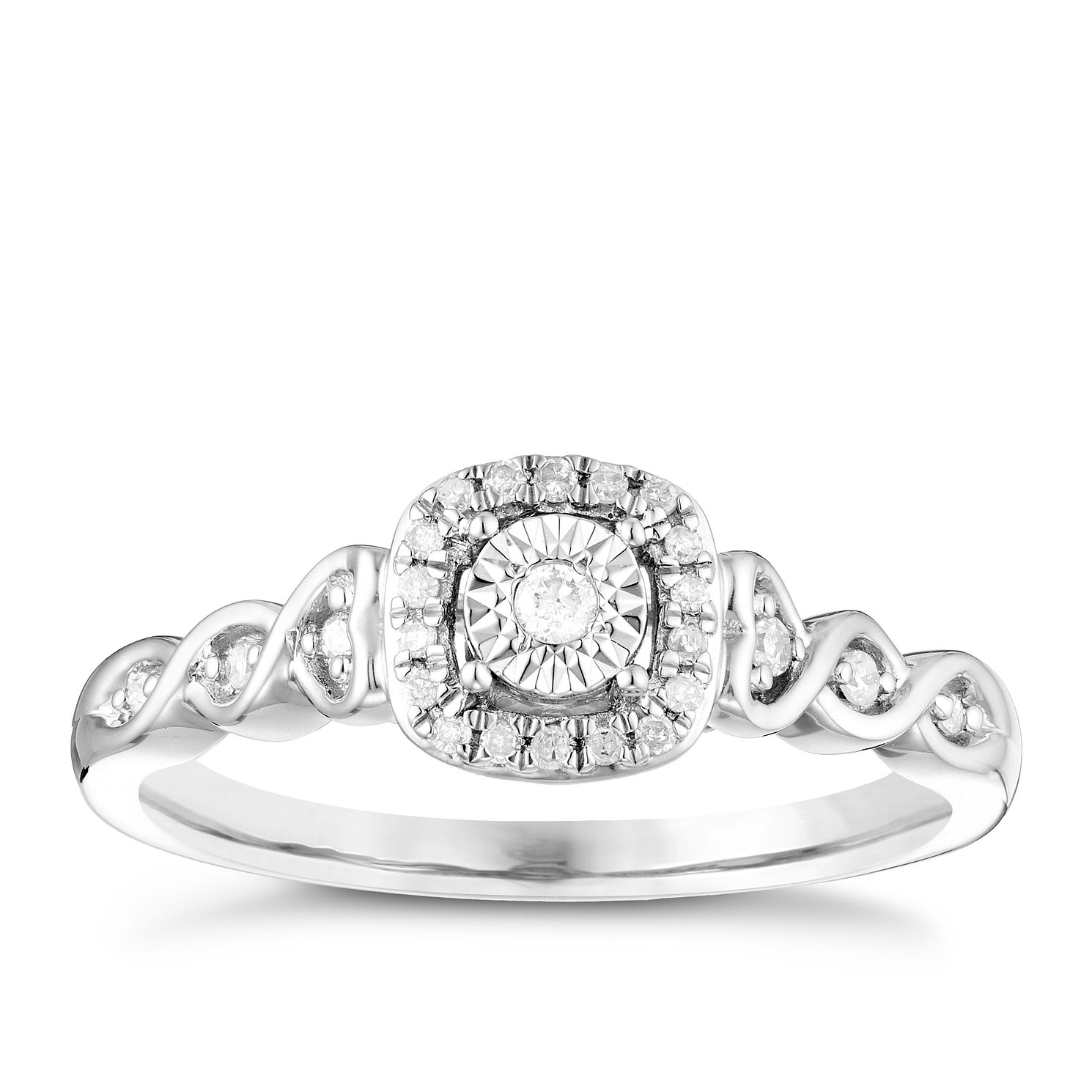rings product mackley jewelers wedding a striking ring cluster s diamond