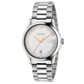 Gucci G-Timeless Men's Stainless Steel Bracelet Watch - Product number 4764218