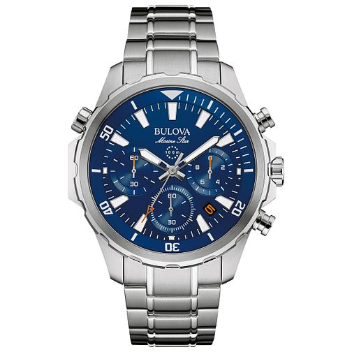 Bulova Marine Men's Stainles Steel Bracelet Watch - Product number 4785614