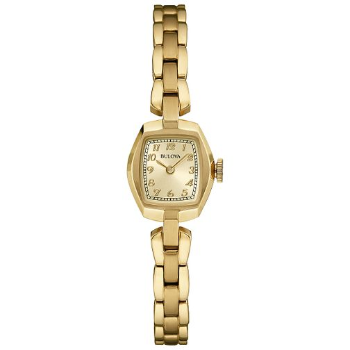 Bulova Ladies' Gold Tone Bracelet Watch - Product number 4785819