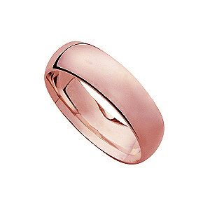 18ct rose gold super heavy 6mm court ring - Product number 4795350