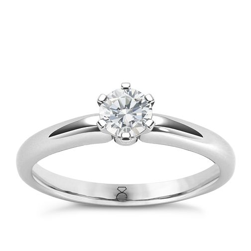The Diamond Story 18ct White Gold 0.33ct Diamond Ring - Product number 4801768