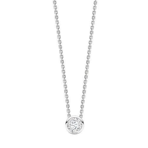 Jan Maarten Asscher 18ct White Gold 0.50ct Diamond Pendant - Product number 4805232