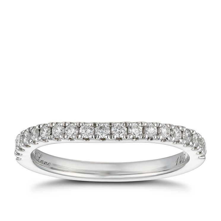 Neil Lane 14ct White Gold 0.28ct Diamond Band - Product number 4807367