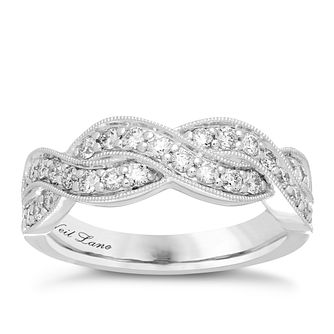 Neil Lane Designs 14ct White Gold 0.58ct Diamond Band - Product number 4809130