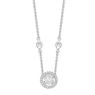 Jan Maarten Asscher 18ct White Gold 75pt Diamond Pendant - Product number 4811232