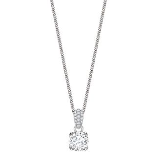 Jan Maarten Asscher 18ct White Gold 0.53ct Diamond Pendant - Product number 4811259