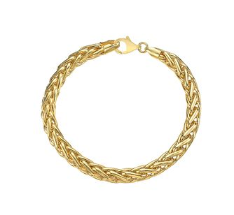 9ct Yellow Gold Heavy Spiga Bracelet - Product number 4811852