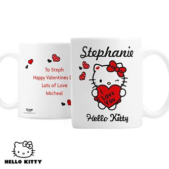 Personalised Hello Kitty I love You Mug