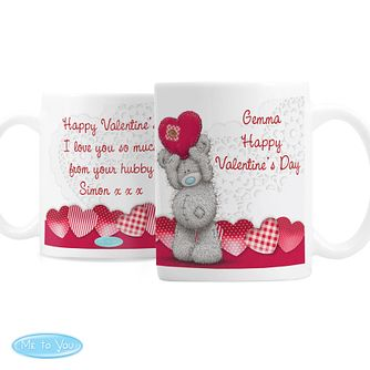 Personalised Me To You Heart Ceramic Mug - Product number 4816919