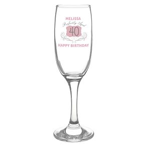 Personalised Perfectly Aged Champagne Flute - Product number 4817001