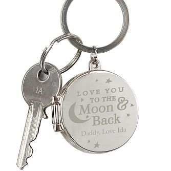 Engraved To the Moon and Back...Photo Keyring - Product number 4817052