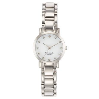 Kate Spade Ladies' Stainless Steel Stone Set Bracelet Watch - Product number 4831551
