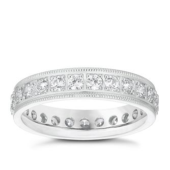 Platinum 1ct Diamond Band - Product number 4831950