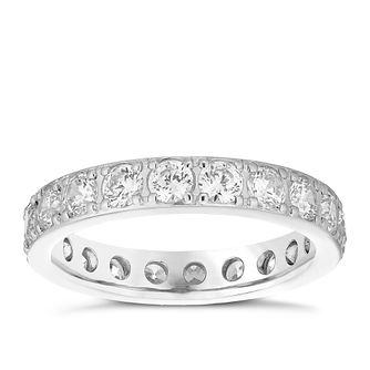 18ct White Gold 1.50ct Diamond Eternity Ring - Product number 4832221
