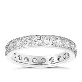 Platinum 1.5ct Diamond Band - Product number 4832558