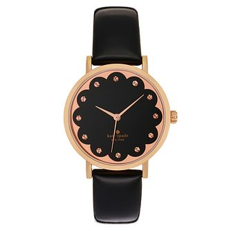 Kate Spade Metro Ladies' Rose Gold Tone Strap Watch - Product number 4832671