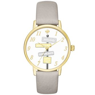 Kate Spade Metro Ladies' Gold Tone Strap Watch - Product number 4832841