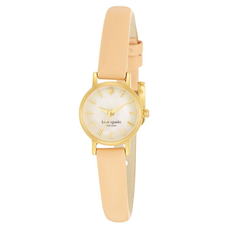 Kate Spade Tiny Metro Ladies' Gold Tone Strap Watch - Product number 4832876