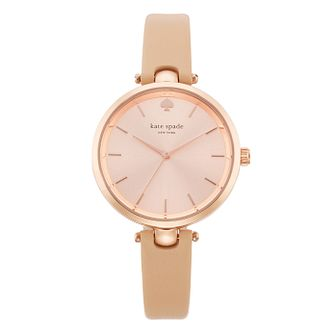 Kate Spade Holland Ladies' Rose Gold Tone Strap Watch - Product number 4832949