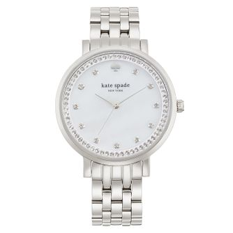 Kate Spade Ladies' Stainless Steel Stone Set Bracelet Watch - Product number 4833023