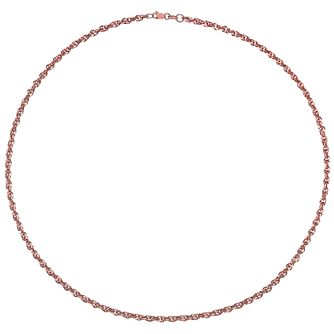 9ct Rose Gold Twist Chain - Product number 4837215