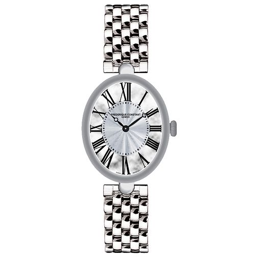 Frederique Constant Ladies' Stainless Steel Bracelet Watch - Product number 4841875