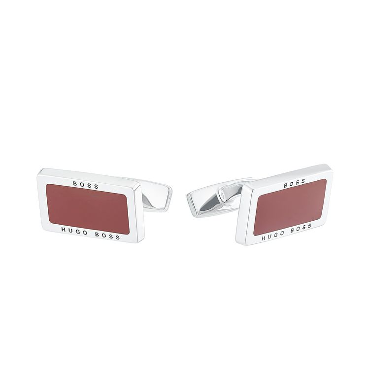 Hugo Boss Men's Stainless Steel Cufflinks - Product number 4843525