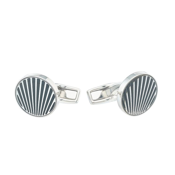 Hugo Boss Simon Men's Stainless Steel Cufflinks - Product number 4843886