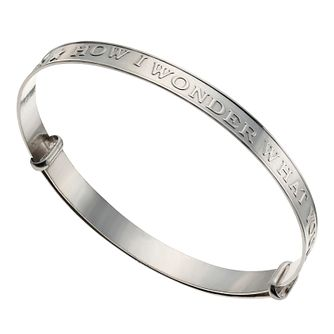Sterling Silver Expandable Twinkle Bangle - Product number 4864050