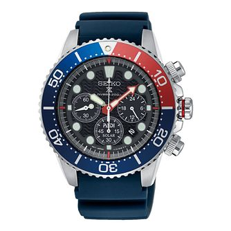 Seiko Prospex Men's Blue Strap Watch - Product number 4872851