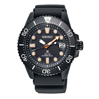Seiko Prospex Limited Edition Men's Black Strap Watch - Product number 4873521