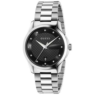Gucci G-Timeless Men's Stainless Steel Bracelet Watch - Product number 4891988