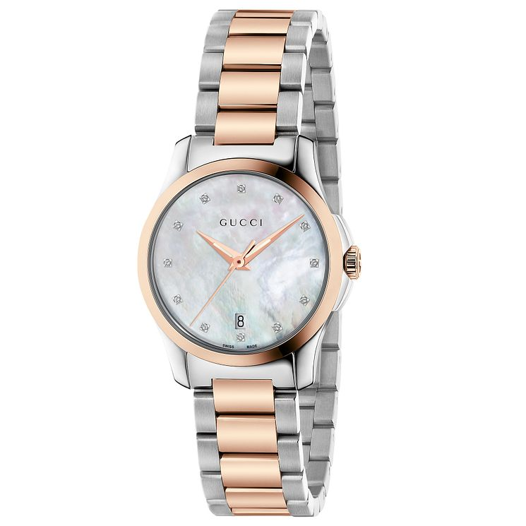 Gucci Ladies' Two Colour Bracelet Watch - Product number 4899326