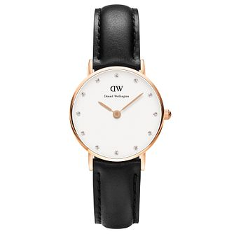Daniel Wellington Sheffield Ladies' Black Leather Watch - Product number 4899962
