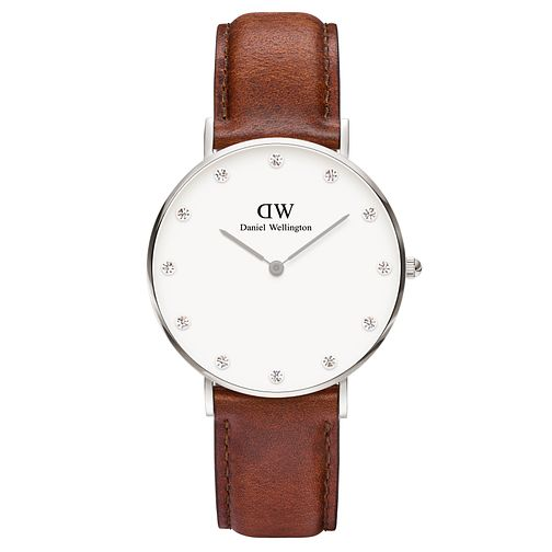 Daniel Wellington Classy St Mawes Ladies' Leather Watch - Product number 4901738