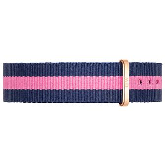 Daniel Wellington Winchester Ladies' Navy & Pink NATO Strap - Product number 4901975