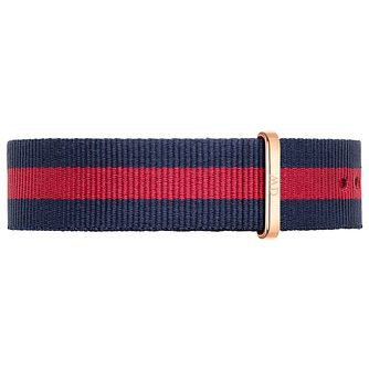 Daniel Wellington Oxford Men's Navy & Red NATO Strap - Product number 4902920