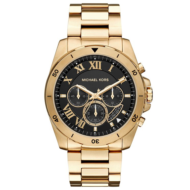Michael Kors Men's Gold Tone Bracelet Watch - Product number 4904427