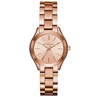 Michael Kors Ladies' Rose Gold Tone Bracelet Watch - Product number 4904818