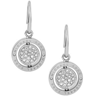 Michael Kors Double Spin Stainless Steel Earrings - Product number 4908619