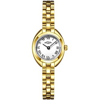 Rotary Ladies' Gold Tone Bracelet Watch - Product number 4909658