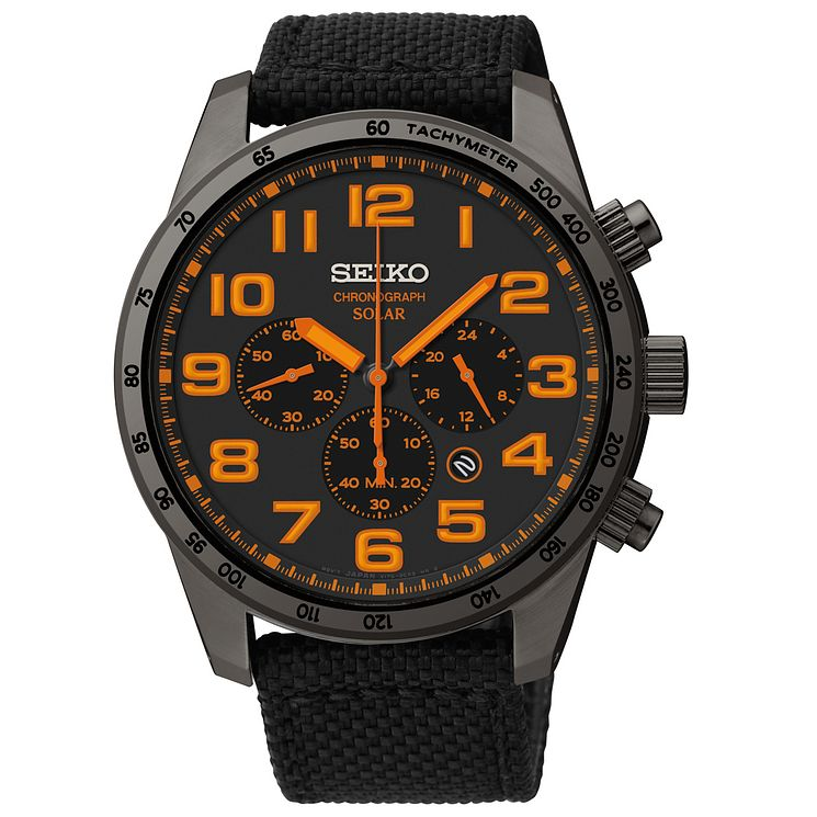 Seiko Conceptual Men's Ion Plated Strap Watch - Product number 4912292